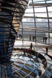 Reichstag Dome Reflection