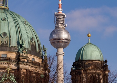 Berliner Dom and Fernseturm