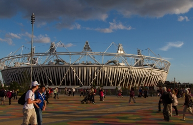 Olympic Stadium, Late Afternoon