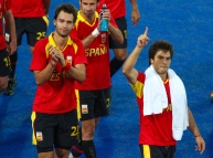Spain wins against South Africa in Men's Hockey, Olympic Park