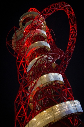 ArcelorMittal Orbit by Night