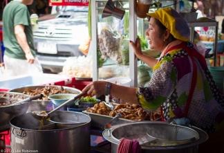 Food Stalls, Chatuchak Market, Bangkok