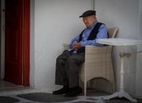 Nap time, Mykonos Town