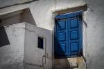 Blue door, MykonosTown