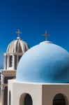 Typical Blue Church Dome, Imerovigli,Santorini
