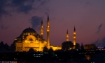 Suleymaniye Camii after Sunset