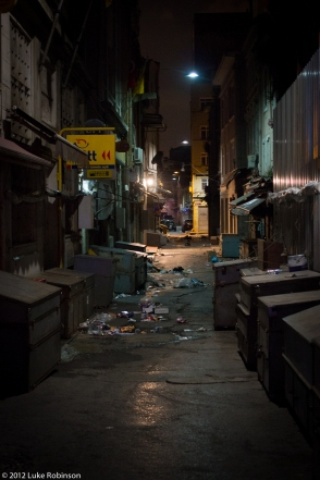 Desolate Alleyway, Galata