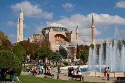 Hagia Sofia and Fountains