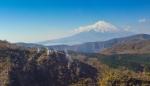Mount Fuji from the HakoneRopeway