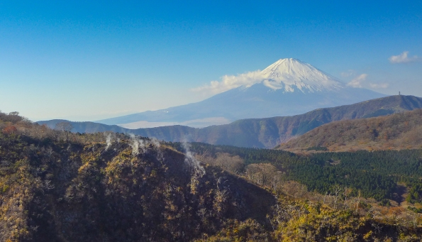 Mount Fuji from the Hakone Ropeway