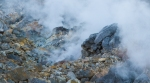 Steaming sulphur vents, Owakaduni,Hakone