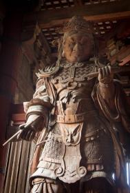 Nio Guardian King, Todaiji Temple, Nara Park