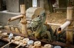 Dragon spigot, Nigatsudo Hall, NaraPark