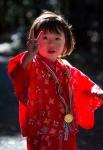 Girl in traditional Seven-Five-Three dress, MeijiJingu