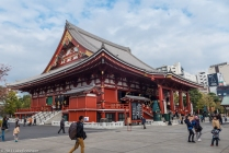 Main hall, Senso-ji Temple, Asakusa