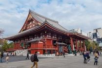 Main hall, Senso-ji Temple, Asakusa