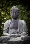 Sitting Buddha, Senso-ji Temple,Asakusa