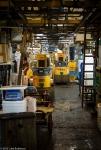 Parked carts, Tsukiji FishMarket