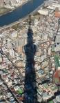 Tokyo Sky Tree casts a longshadow