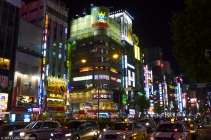 The lights of Kabukicho, Shinjuku