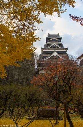 Kumamoto Castle and Autumn Colours