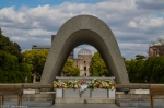Memorial Cenotaph, Peace Memorial Park,Hiroshima