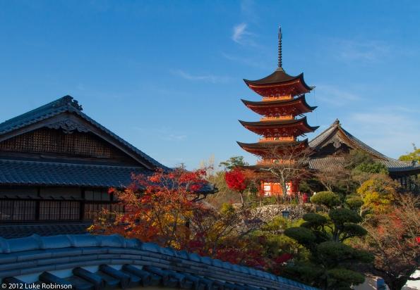 Pagoda of the Itsukushima Shrine, Miyajima