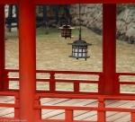 Lanterns of the Itsukushima Shrine,Miyajima