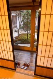 Interior of Ichijo-in Temple, Koya-san
