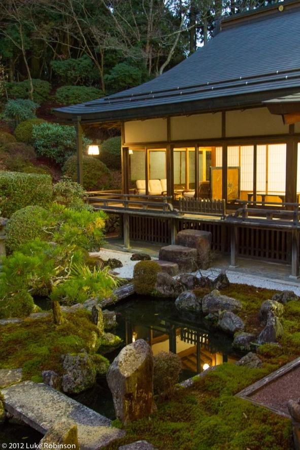 Garden of Ichijo-in Temple, Koya-san