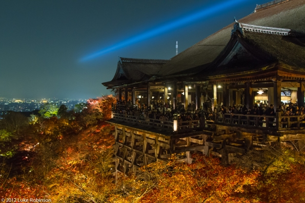 Main Hall of Kiyomizu-dera Temple, Kyoto
