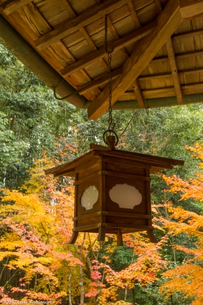 Wooden lantern, Koto-in Temple, Kyoto