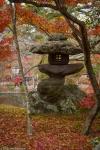 Stone lantern in Eikando Temple,Kyoto
