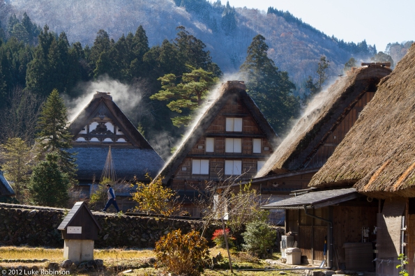 Gassho-zukuri farmhouses, Ogimachi, Shirakawa-go