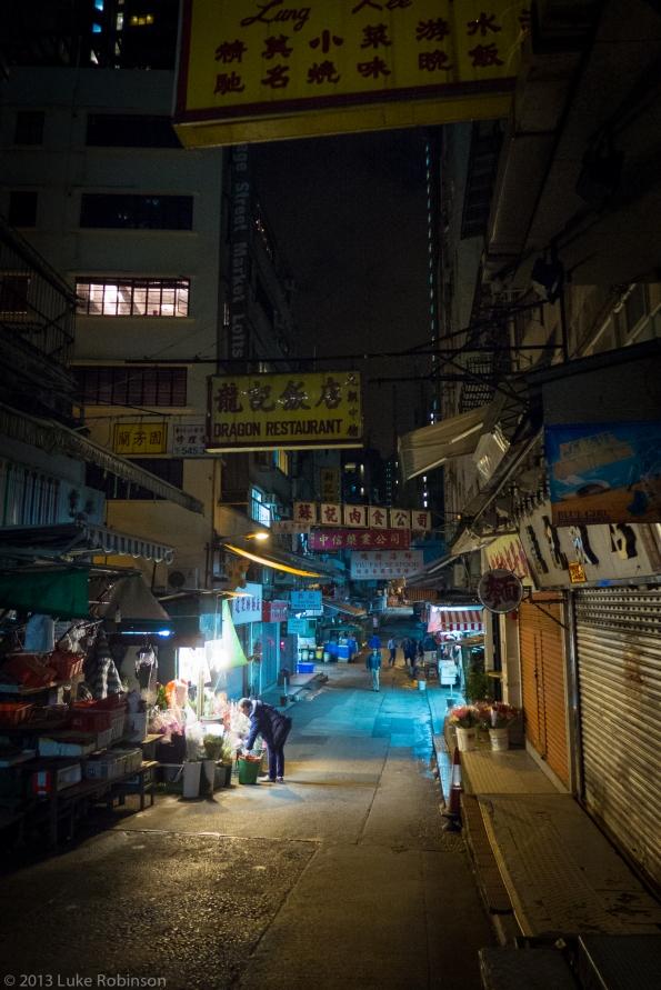 Hong Kong Night Streets, Central