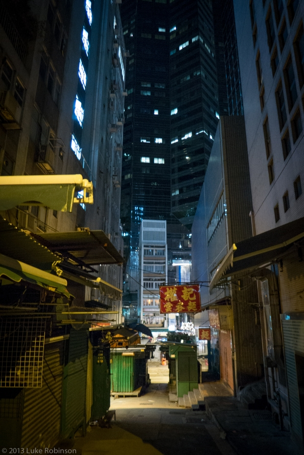 Hong Kong Night Streets, Central