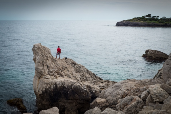 The Watcher, near Cap d'Ail