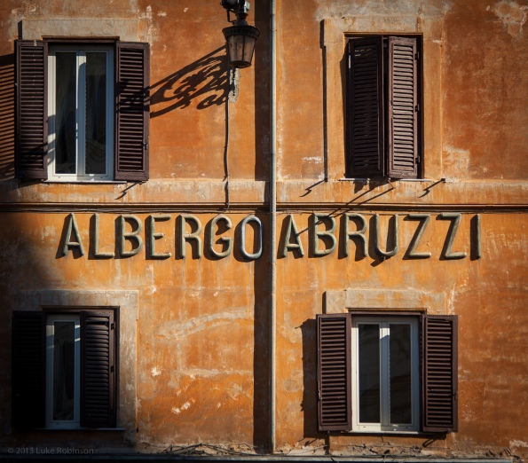 Albergo Abruzzi in morning light