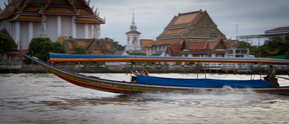 Racing Home, Chao Phraya River, Bangkok